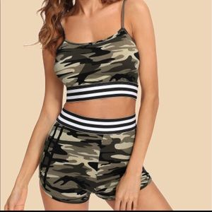 Other - Two piece camo set